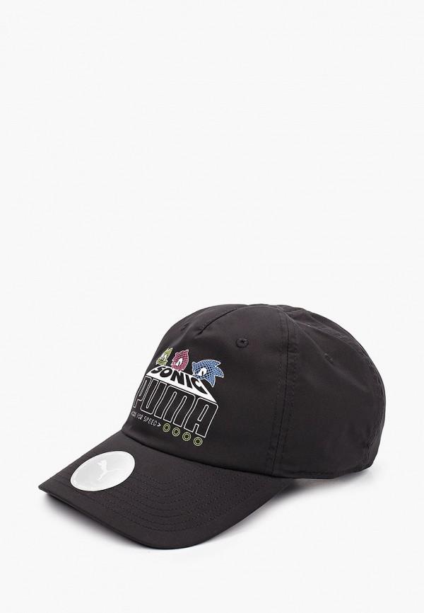 бейсболка puma для мальчика, черная