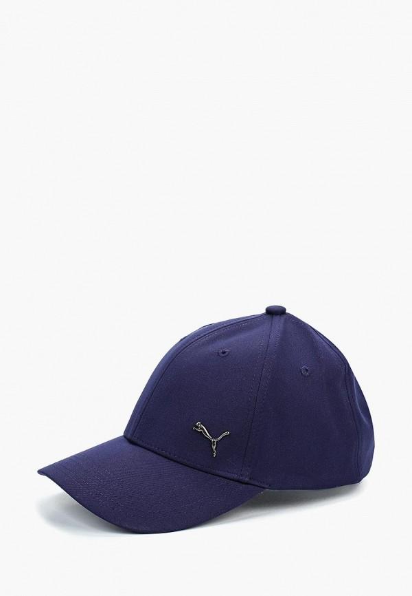 женская бейсболка puma, синяя