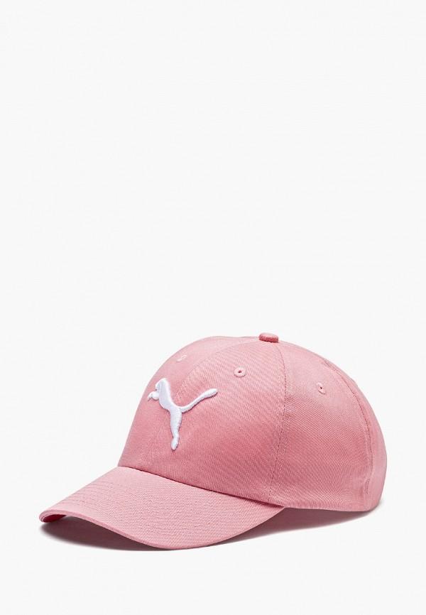 женская бейсболка puma, розовая