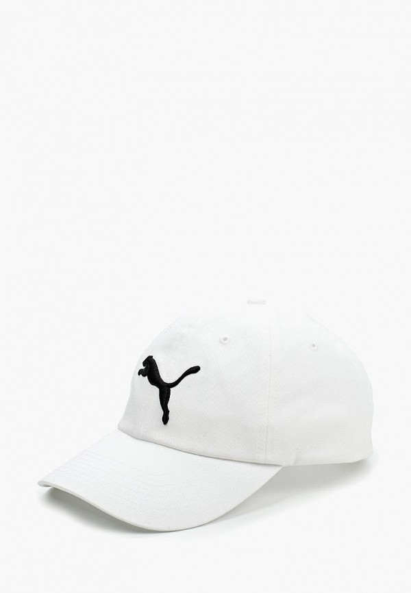 женская бейсболка puma, белая