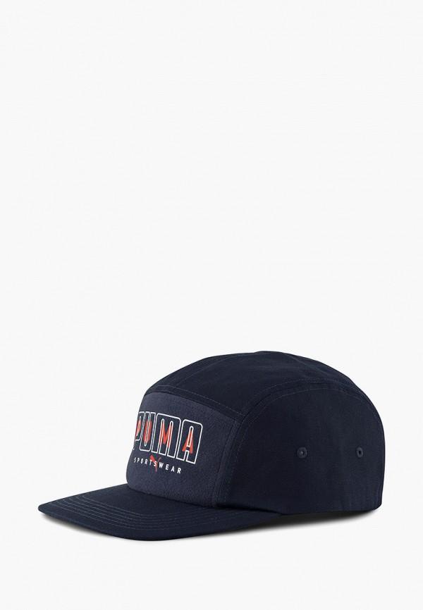 женская кепка puma, синяя