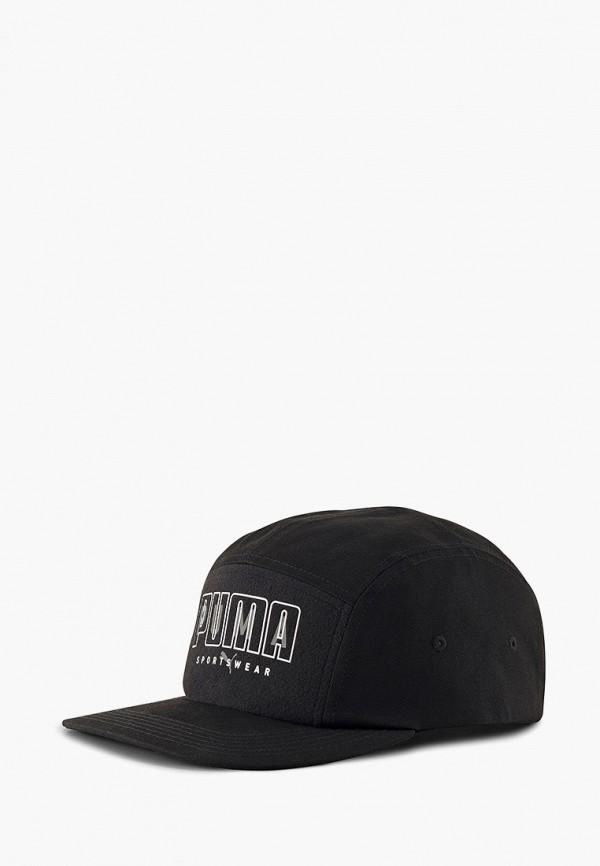 женская кепка puma, черная