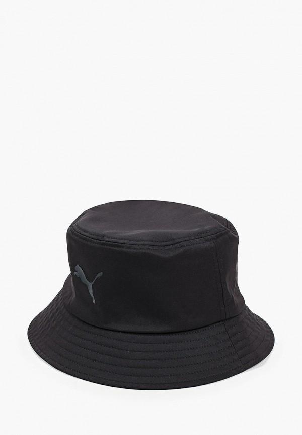 женская панама puma, черная