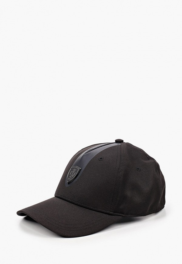 женская бейсболка puma, черная