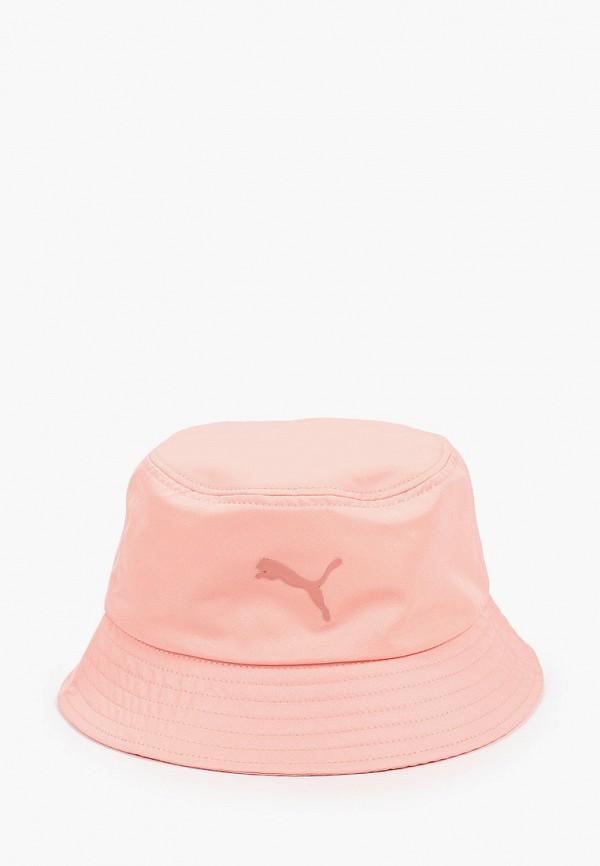 женская панама puma, розовая