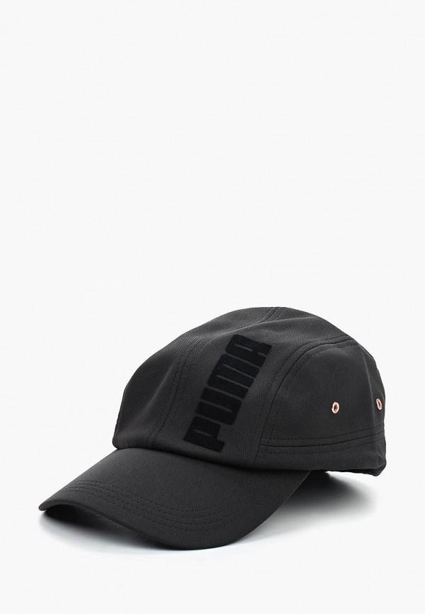 мужская бейсболка puma, черная