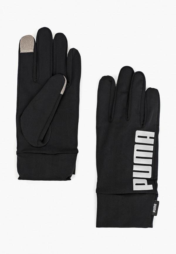 Купить Перчатки PUMA, PR Performance Gloves, PU053DMCJHB1, черный, Осень-зима 2018/2019