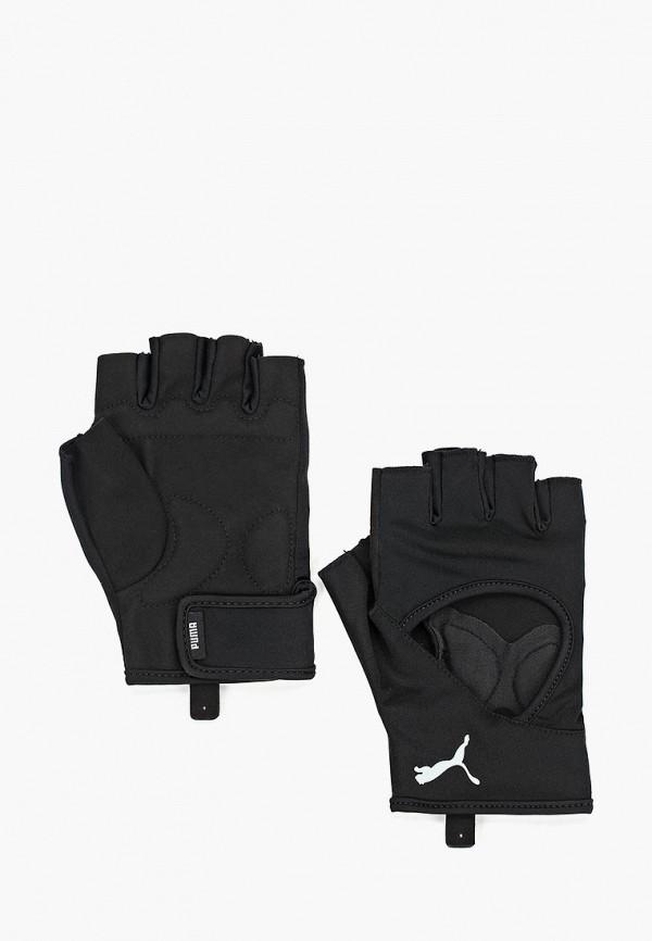 Купить Перчатки для фитнеса PUMA, TR Ess Gloves, PU053DMCJHB3, черный, Осень-зима 2018/2019