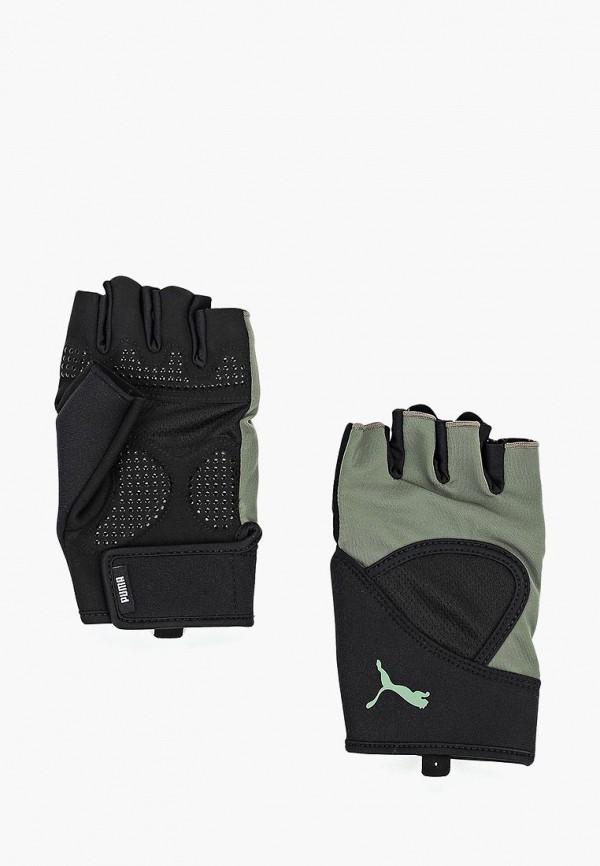 Купить Перчатки для фитнеса PUMA, TR Ess Gloves Up, PU053DMCJHB4, черный, Осень-зима 2018/2019