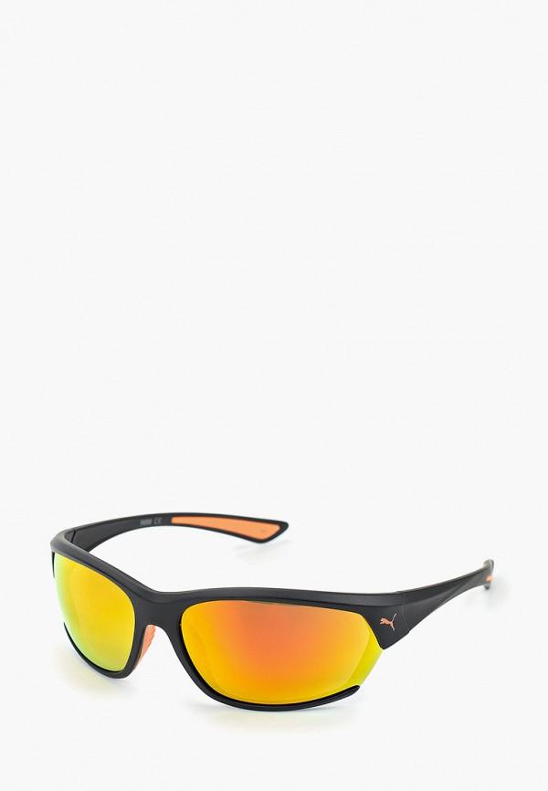Фото - Очки солнцезащитные PUMA черного цвета