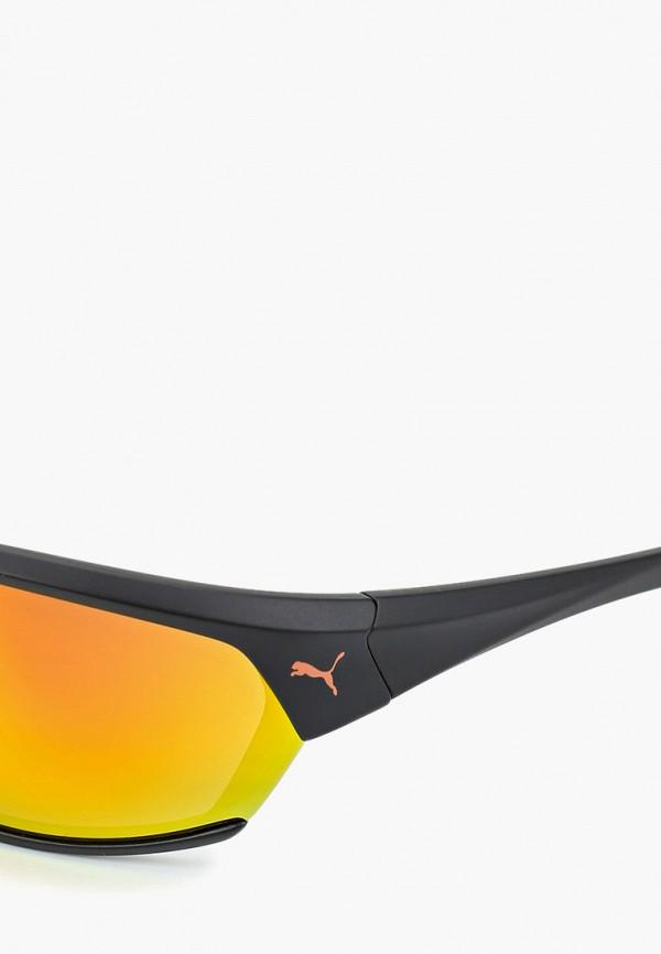 Фото 2 - Очки солнцезащитные PUMA черного цвета