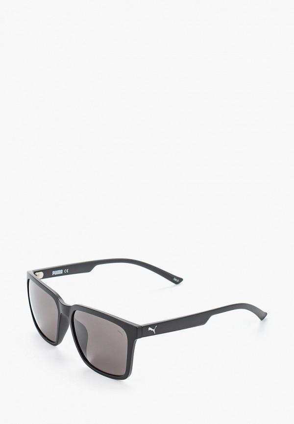 мужские квадратные солнцезащитные очки puma, серые