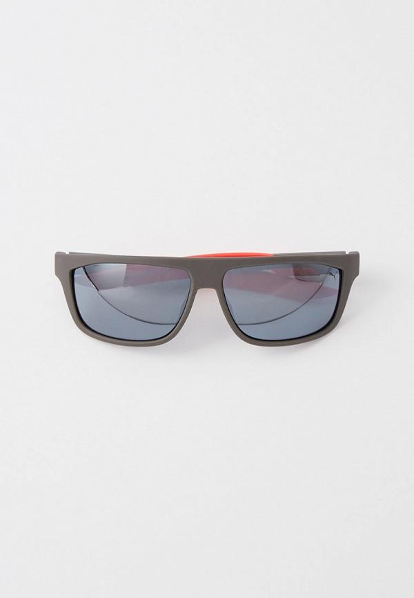 Очки солнцезащитные PUMA черного цвета