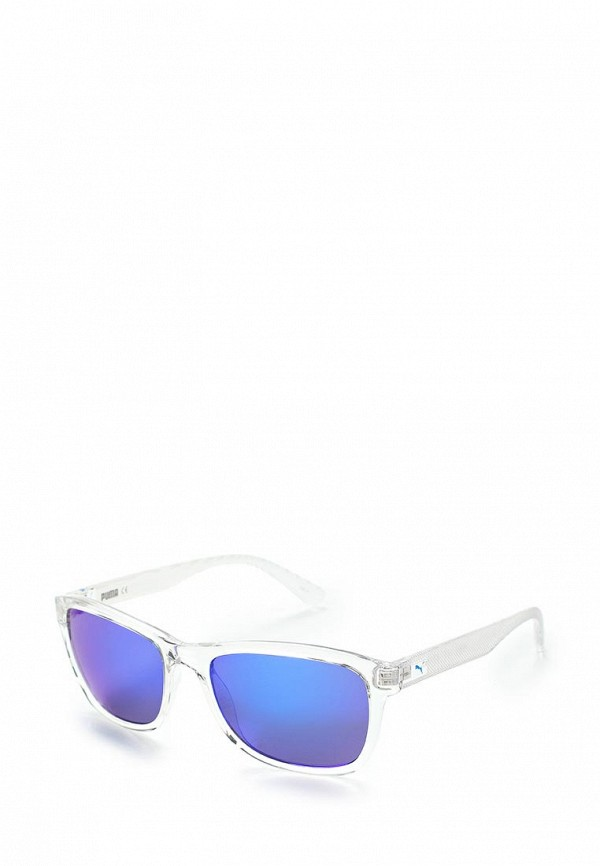 Фото - Очки солнцезащитные PUMA белого цвета