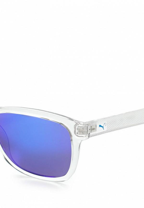 Фото 2 - Очки солнцезащитные PUMA белого цвета
