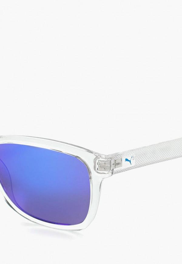 Фото 5 - Очки солнцезащитные PUMA белого цвета