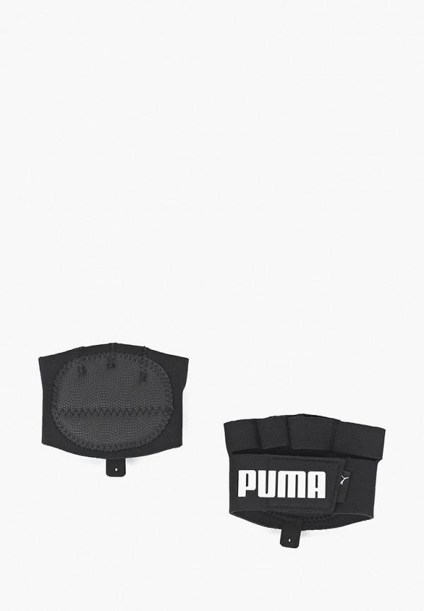 женские перчатки puma, черные