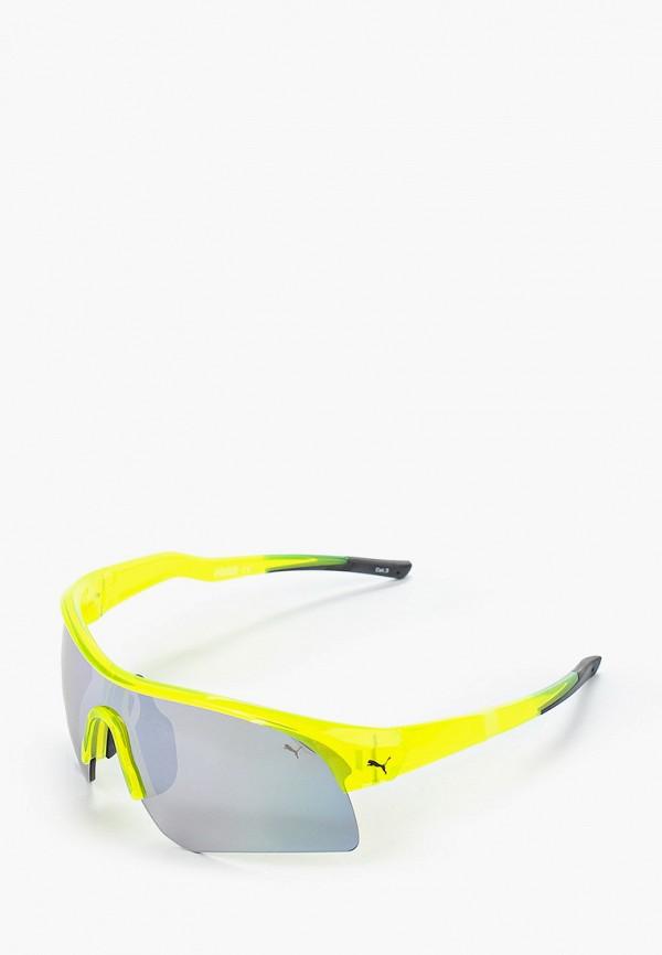 женские солнцезащитные очки puma, желтые