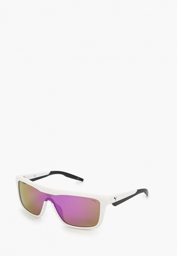 женские солнцезащитные очки puma, белые