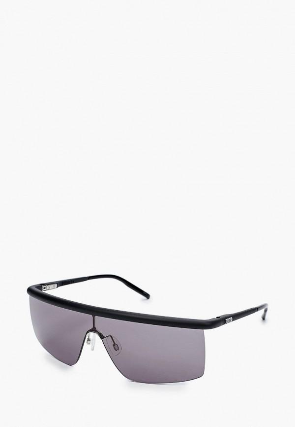 женские квадратные солнцезащитные очки puma, черные