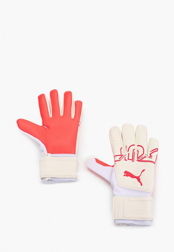 женские перчатки puma, белые