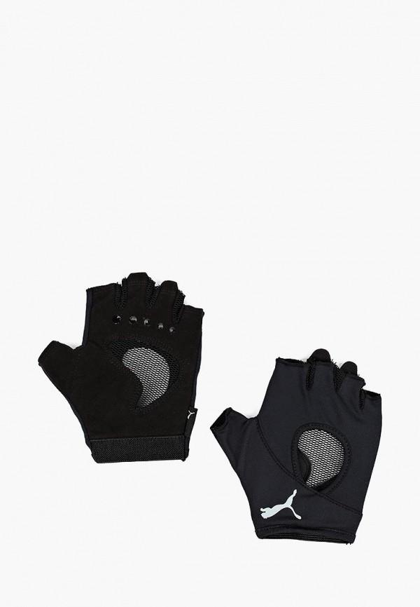 Купить Перчатки для фитнеса PUMA, AT Gym Gloves, PU053DWCJHS0, черный, Осень-зима 2018/2019