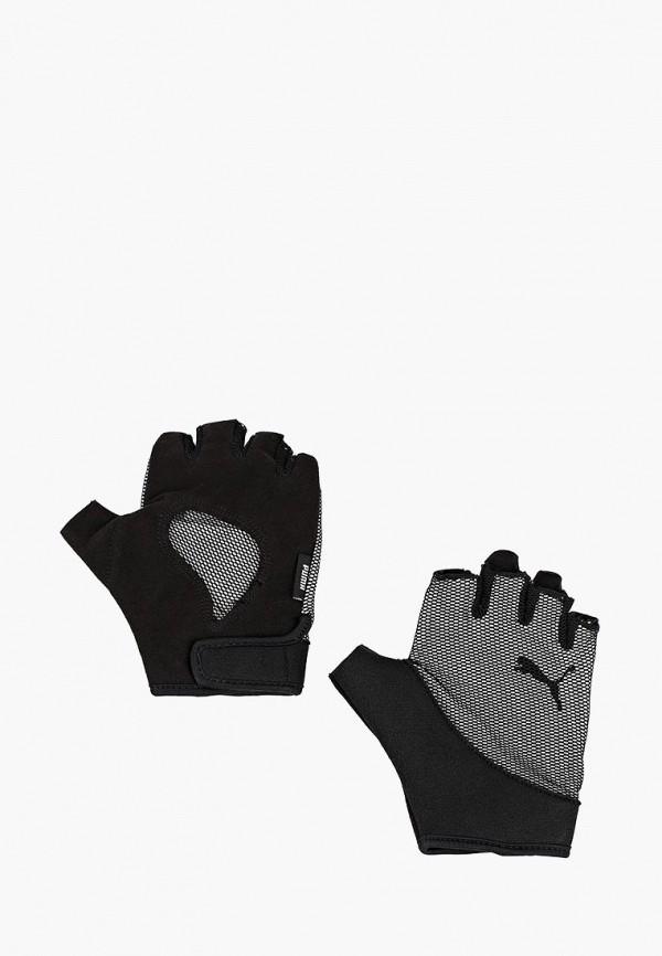 Купить Перчатки для фитнеса PUMA, Ambition Gym Gloves, PU053DWCJHS2, черный, Осень-зима 2018/2019
