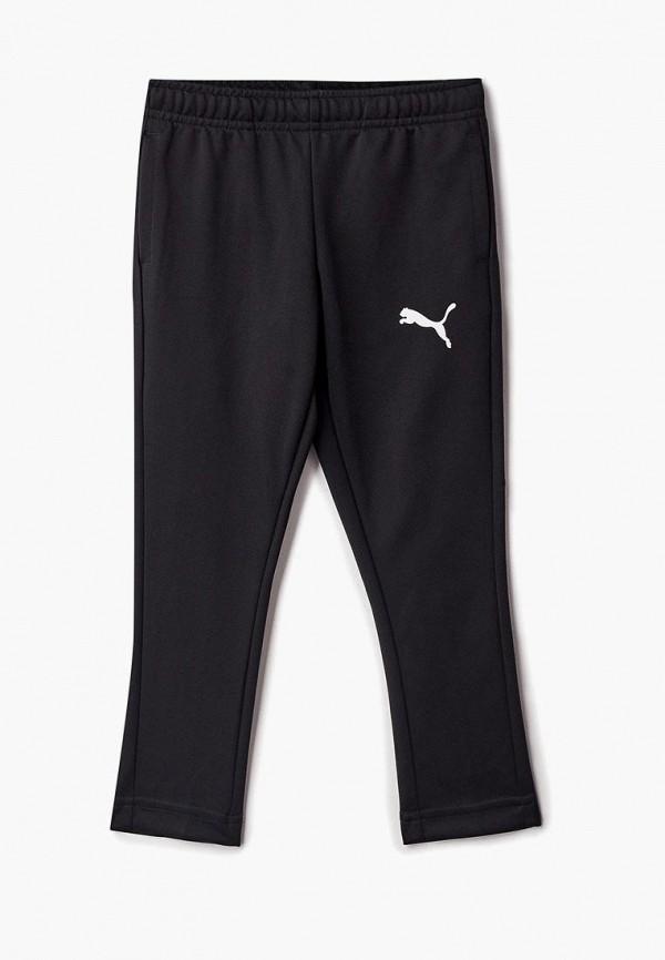 спортивные спортивные брюки puma для мальчика, черные