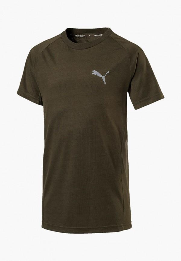 Футболка спортивная PUMA PUMA PU053EBEGCX8 футболка для мальчика puma ftblnxt graphic tee jr цвет черный темно серый 655758017 размер 164