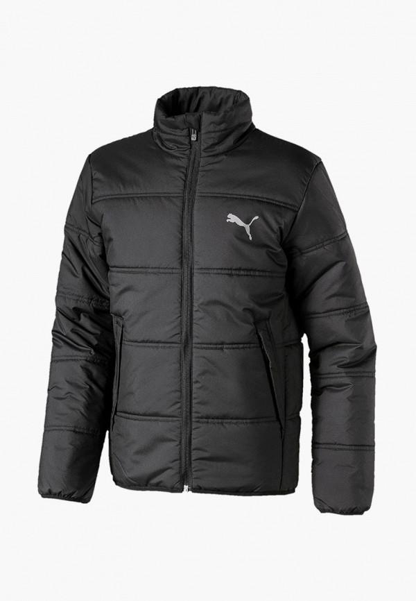 куртка puma для мальчика, черная