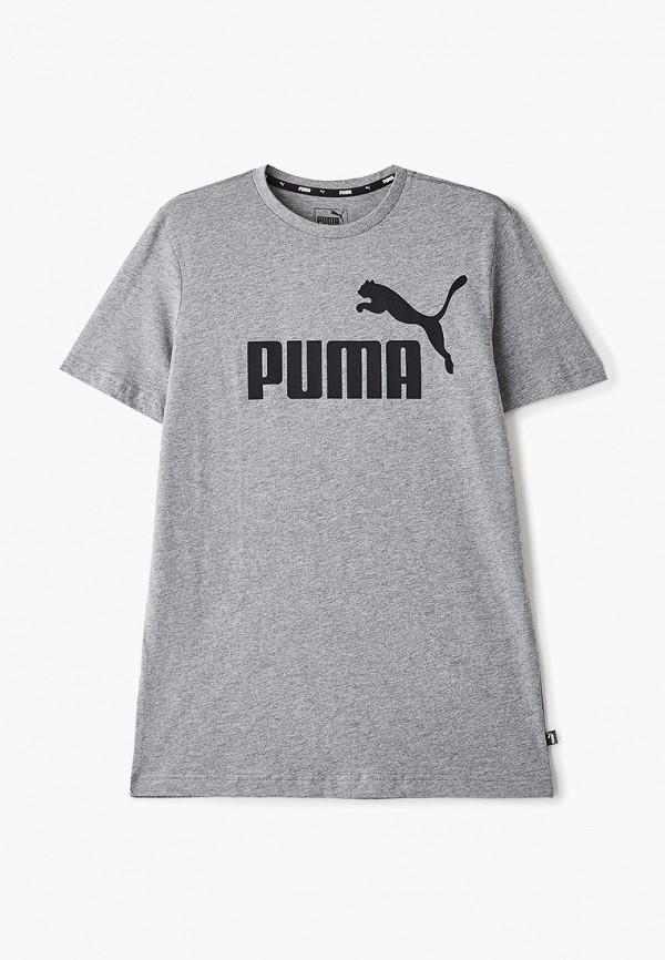 Футболка PUMA PUMA PU053EBFYXS2 футболка для мальчика puma ftblnxt graphic tee jr цвет черный темно серый 655758017 размер 164