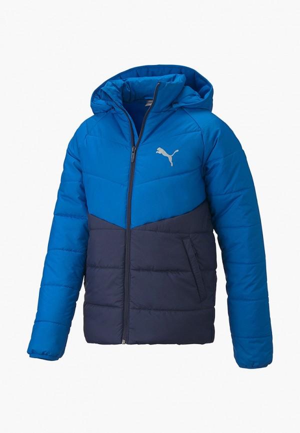 куртка puma для мальчика, синяя
