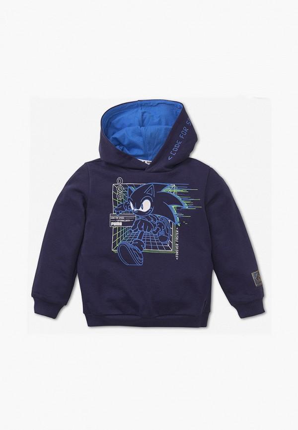 худи puma для мальчика, синие