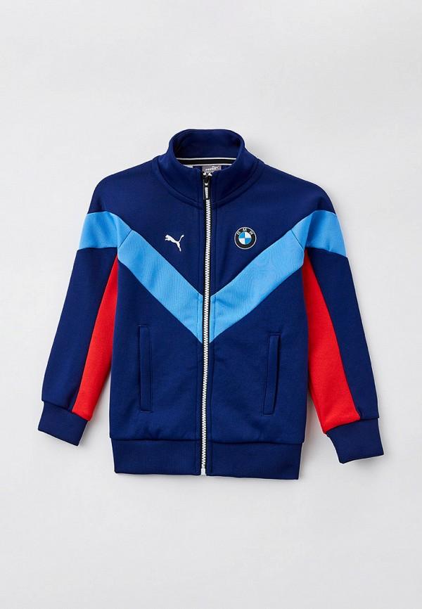 олимпийка puma для мальчика, синяя