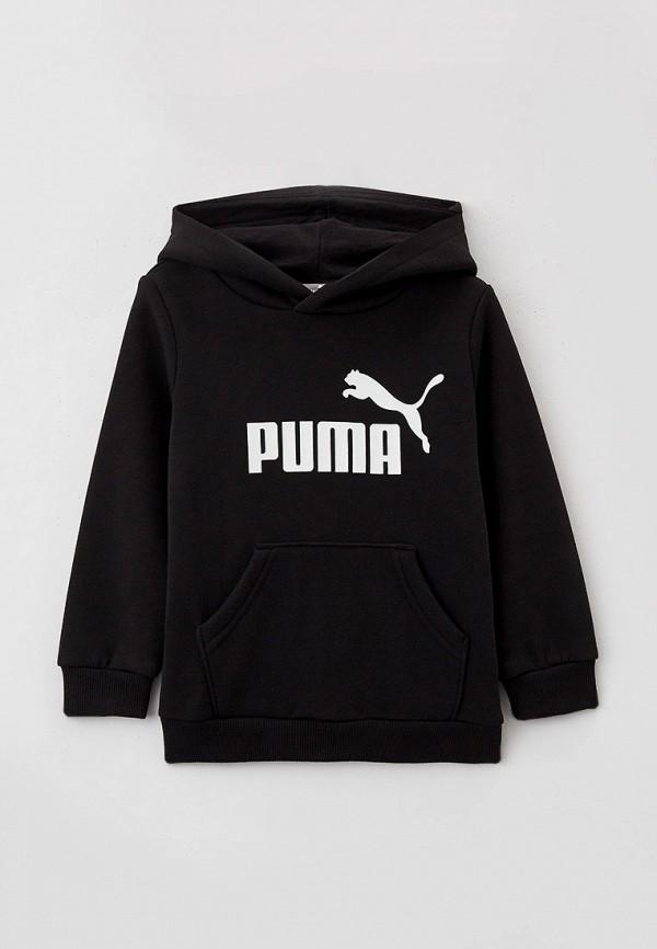 худи puma для мальчика, черные