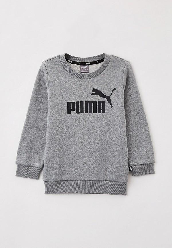 свитшот puma для мальчика, серый