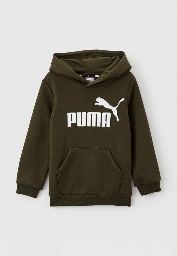 худи puma для мальчика, хаки