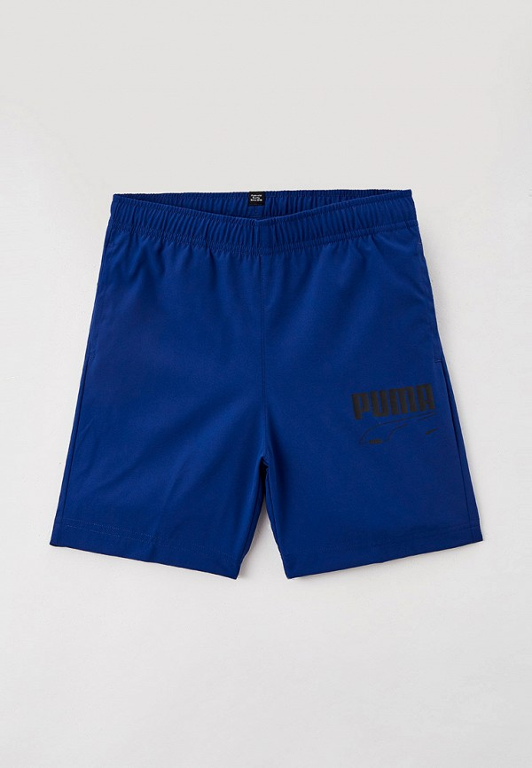 спортивные шорты puma для мальчика, синие