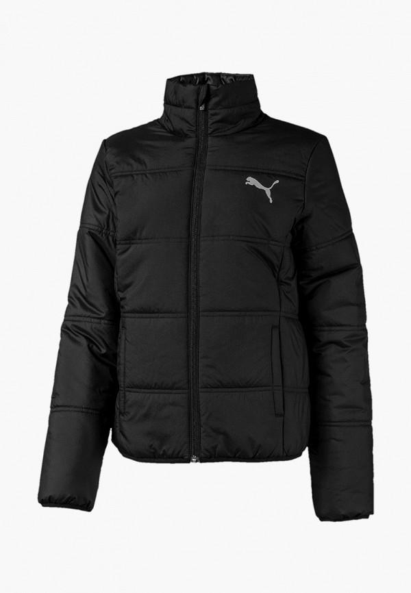 куртка puma для девочки, серая