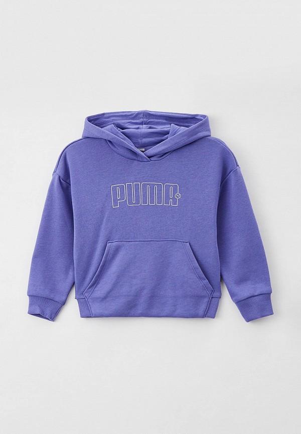 Худи PUMA фиолетового цвета