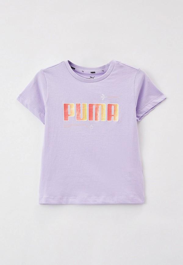 Футболка PUMA фиолетового цвета