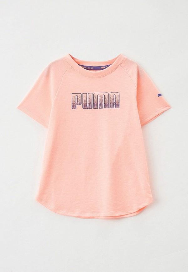 Футболка спортивная PUMA розового цвета