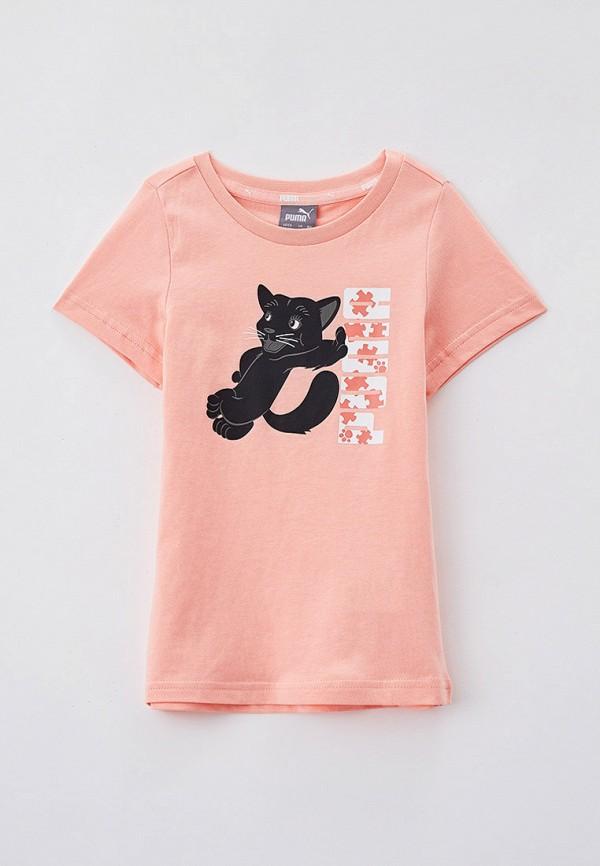 футболка puma для девочки