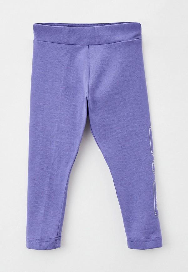 леггинсы puma для девочки, фиолетовые