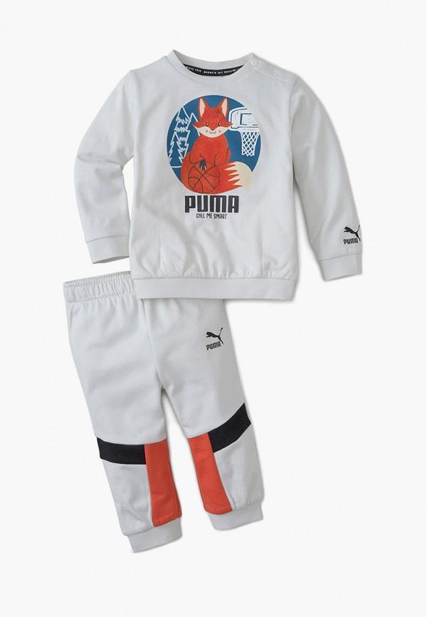 спортивный костюм puma малыши, белый
