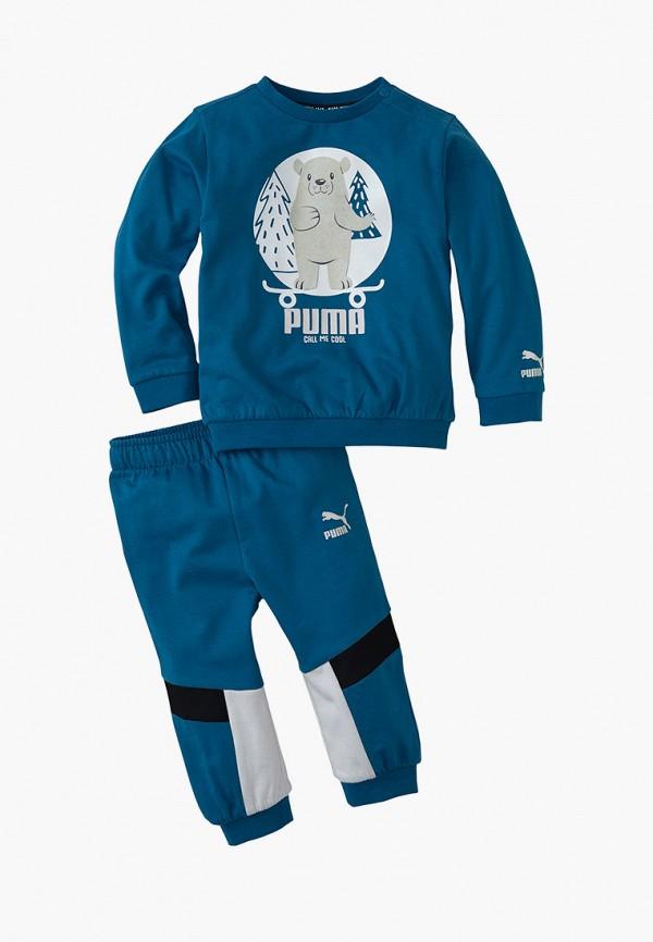 спортивный костюм puma малыши, синий
