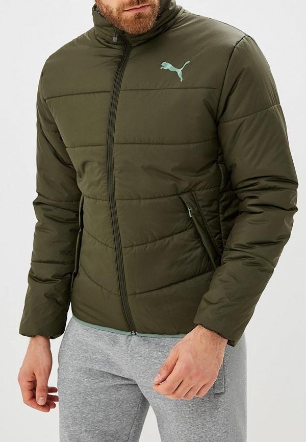 Купить Куртка утепленная PUMA, ESS PADDED JACKET, PU053EMCJJM0, хаки, Осень-зима 2018/2019