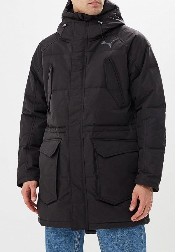 Пуховик PUMA PUMA PU053EMCJJN9 пуховик мужской puma ferrari down jacket цвет черный 57667402 размер s 44 46