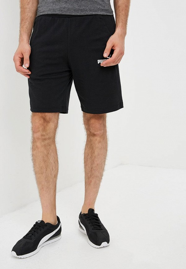 мужские повседневные шорты puma, черные