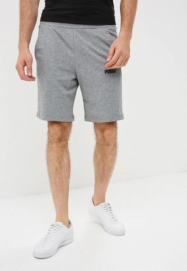 мужские повседневные шорты puma, серые